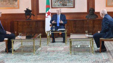 صورة الرئيس تبون ينتقد التطبيع العربي مع الكيان الإسرائيلي