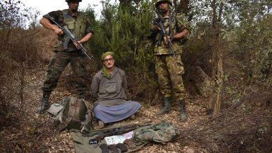 صورة القبض على إرهابي خطير في جيجل