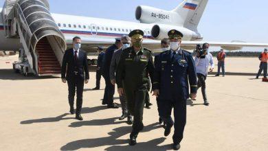 صورة نائب وزير الدفاع الروسي في الجزائر