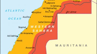صورة بريطانيا تنسف ادعاءات المخزن وتنشر خريطة الصحراء الغربية منفصلة عن المغرب