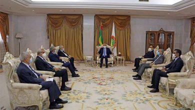 صورة اتفاق جزائري موريتاني لتفعيل اللجنة العليا المشتركة