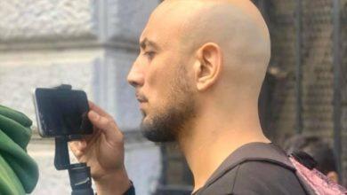 صورة وفاة الصحفي حمزة شلوش غرقا بشاطئ عين البنيان