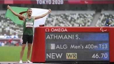 صورة العداء اسكندر عثماني يصنع التاريخ في طوكيو ويحقق ذهبية ويحطم الرقم القياسي العالمي