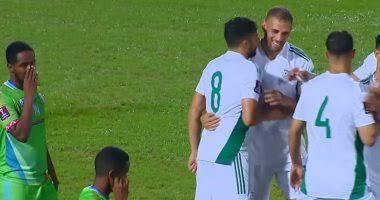 صورة تصفيات مونديال 2022.. الخضر يدكون جيبوتي بـ 8 أهداف كاملة