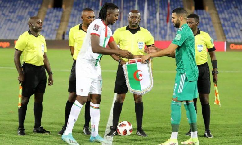صورة هكذا سيتم الفصل فـي بطاقة التأهل بين الجزائر وبوركينافاسو